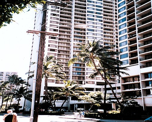 Exterior view of Hawaiian Sun Holidays.