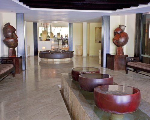 Lounge area at Sol Melia Vacation Club At Paradisus Punta Cana.