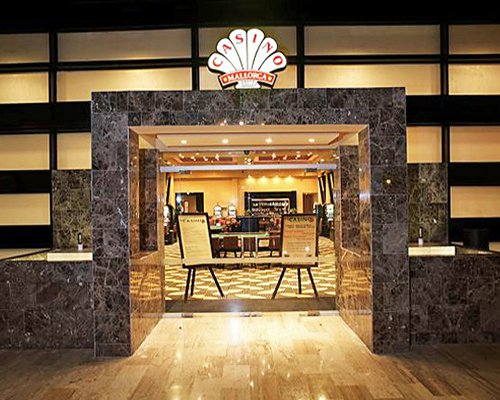 Entrance to the casino at Sol Melia Vacation Club.
