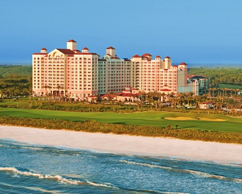 An aerial view of the Hammock Beach Resort.