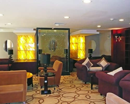 Lounge area at SRC @ Fulitai Internation Hotel.