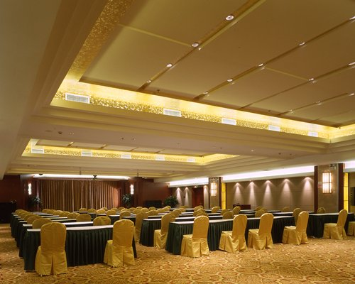 A conference room at Ramada Hotel Wuxi.