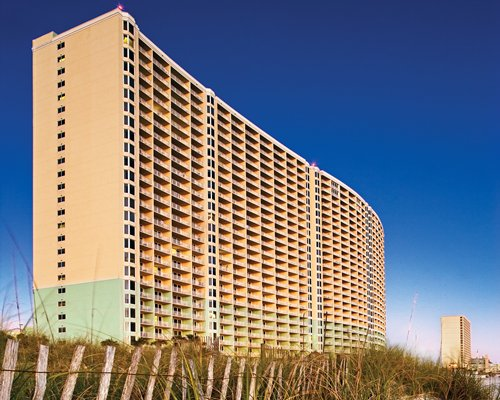 Exterior view of Wyndham Vacation Resorts Panama City Beach.