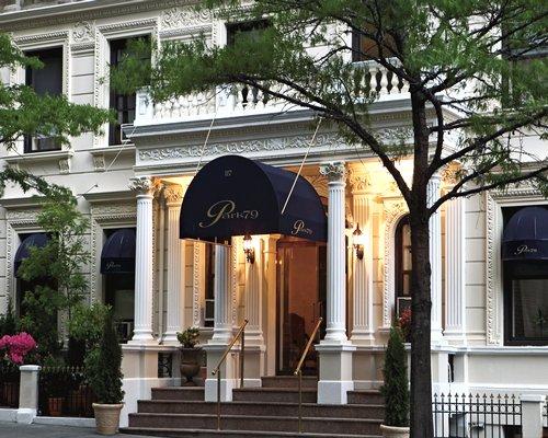 Entrance of Park 79 hotel.