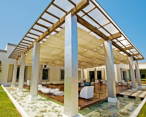 Outdoor lounge area at BlueBay Grand Esmeralda.