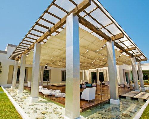 Outdoor lounge area at BlueBay Grand Esmeralda.