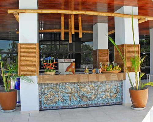 The snack bar at Maceio Mar Hotel.