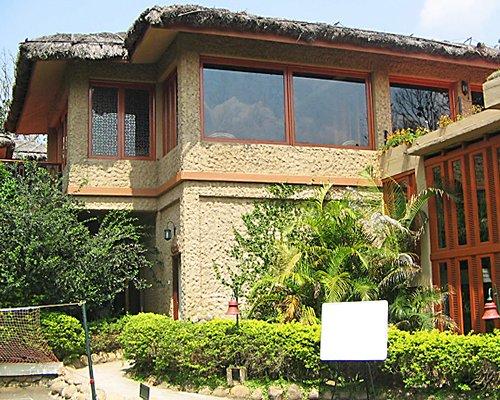 Exterior view of Club Mahindra Thekkady resort.