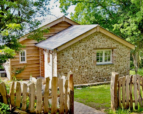 Entrance to a unit at Brimble Cottage.