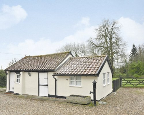 Exterior view of The Old Stables cottage.