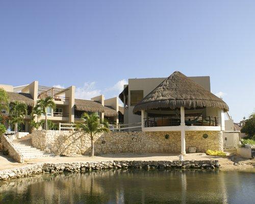 An exterior view of resort.