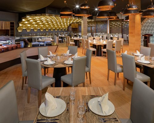 A man enjoying the massage at the spa.