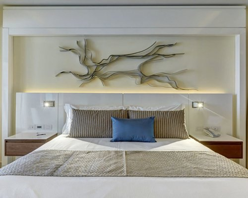 A king size bed.