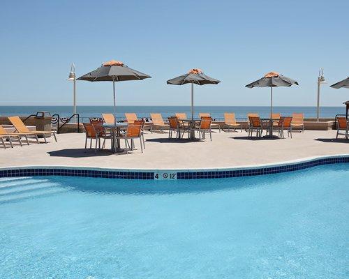 Resort reception area.