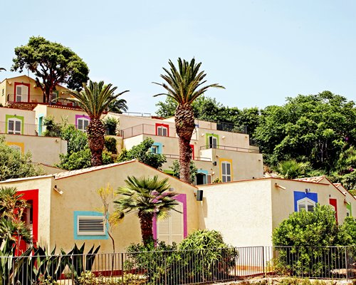 Scenic exterior view of Domina Zagarella Sicily resort.