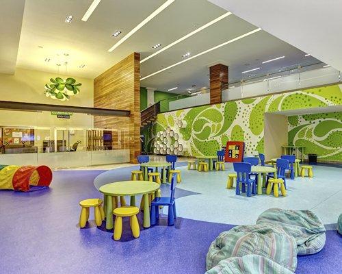 Kids recreation room.