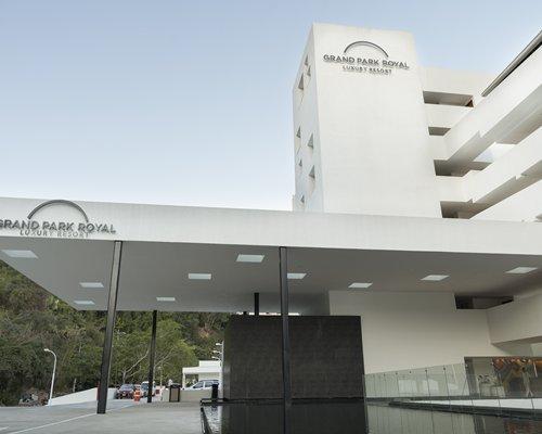 Exterior view of Grand Park Royal Luxury Resort Puerto Vallarta