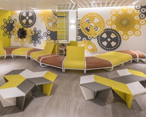 Lounge area at Astoria Current.