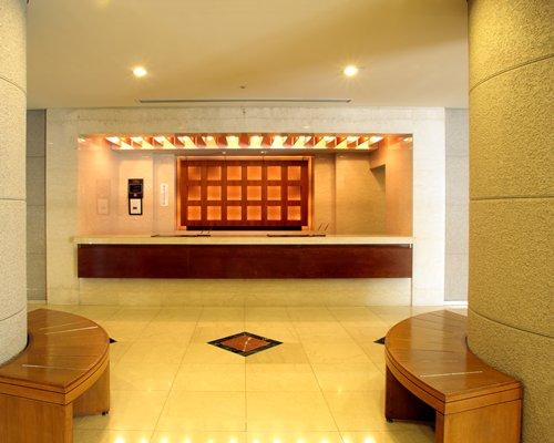 Reception at Villa Kitakaruizawa L Wing.