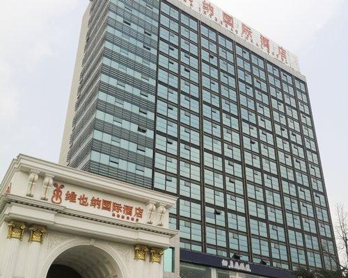 An exterior view of Vienna Hotel Chengdu.