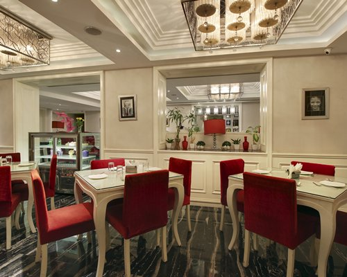 A well furnished fine dine restaurant.