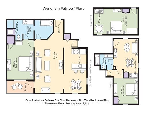Wyndham Patriots' Place - 3 Nights