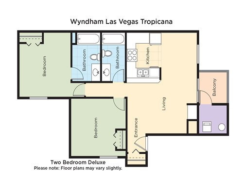 Wyndham Tropicana at Las Vegas - 3 Nights