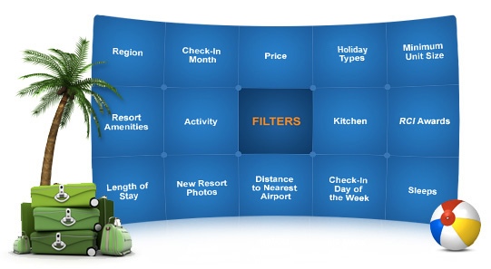 RCI - Extra Holidays - Points To Remember