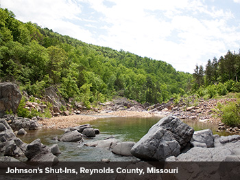 Johnsons Shut-ins, Reynolds County, Missouri