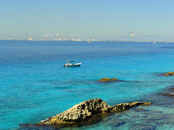 Downtown-Cancun-from-isla-Mujeres