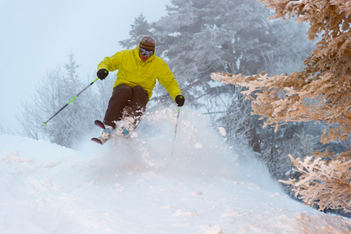 A Little Vermont Ski Town