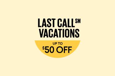 Last-minute Getaways Savings