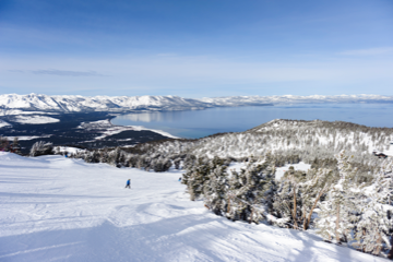 Skiing South Lake Tahoe