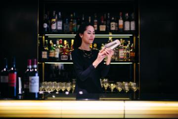 New York City Hotel Bar Scene