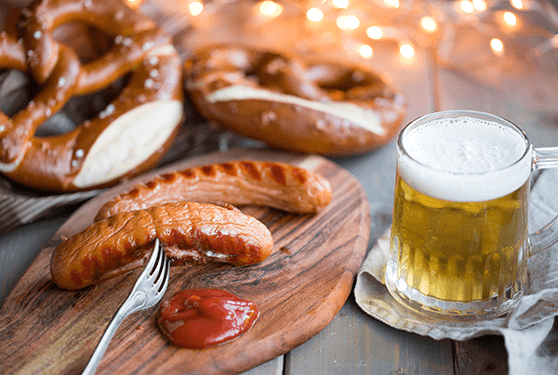 Oktoberfest for Wurstfest craft beer festival 2017
