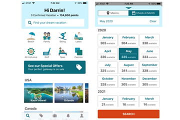 RCI Delivers New Mobile App