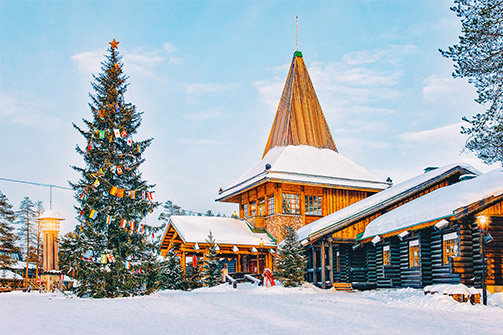 A CHRISTMAS DREAM IN FINLAND