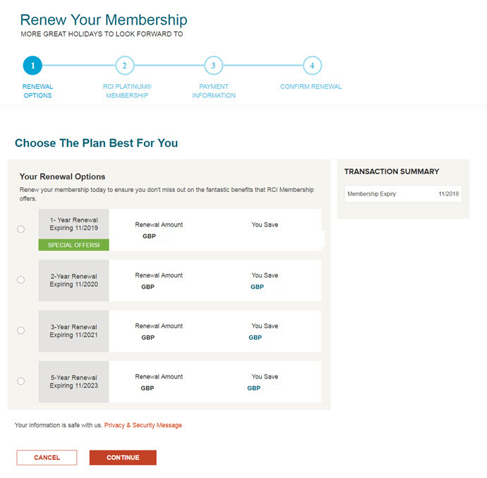 Renewing Your Membership