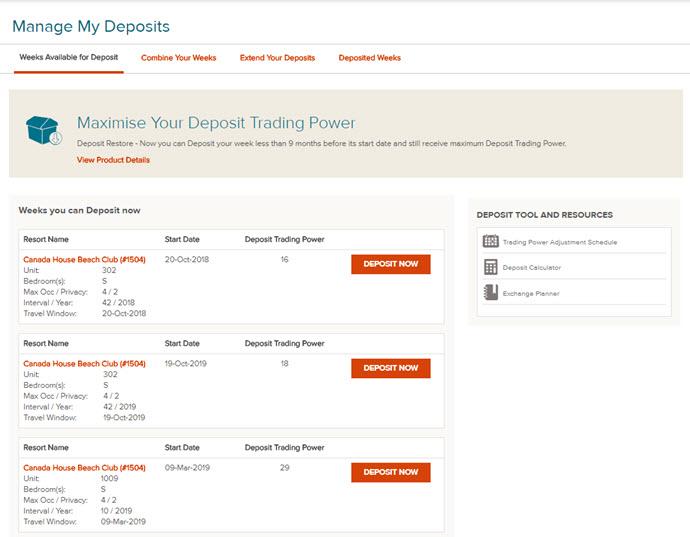 Deposit Trading Power Explained
