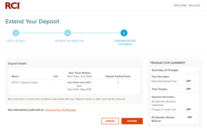 Expiring Deposits