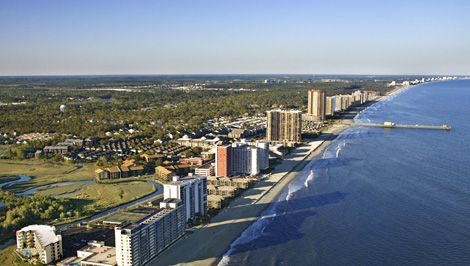 View resorts in Myrtle Beach Area
