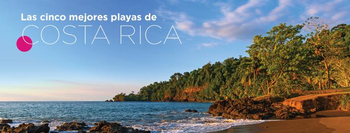 Las cinco mejores playas de Costa Rica